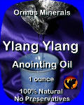 Ormus Minerals Ylang Ylang Anointing Oil
