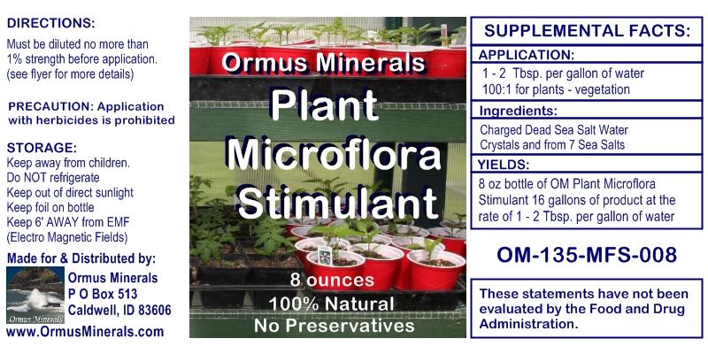 Ormus Plant Microflora Stimulant